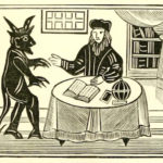 """It is very theological play: Faustus' sin begins with pride and ends in despair; he chooses evil of this own free will but enslaves his body as well as his soul to temptation"""". Discuss this statement in relation to Marlow's Doctor Faustus."""