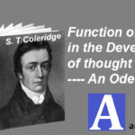 Function of the Wind in the Development of thought in Dejection —- An Ode