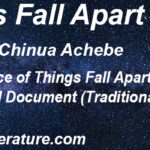 "Significance of ""Things Fall Apart"" as a Social Document (Traditional Igbo Life)"